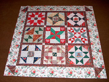 Folk-Art Yuletide Quilted Wall Hanging Pattern - HowStuffWorks