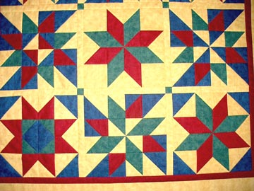 Directions for the Lone Star Quilt | eHow.com
