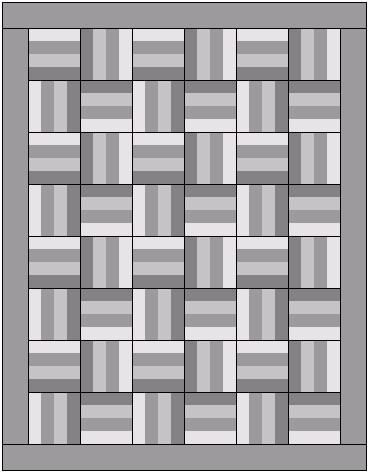 Rail Fence Quilt Patterns - Learn About Rail Fence Quilts